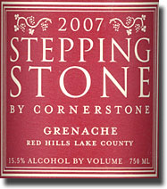 2007 Stepping Stone Red HIlls-Lake County Grenache