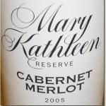 Coriole Mary Kathleen Reserve Cabernet