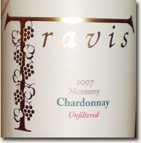 2007 Travis Unwooded Chardonnay