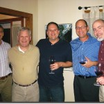 (L)  Roland Rissen, Bob Graeter, Larry Meehan, Jon Cook and Jeff King