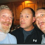 (L)  George Heritier, Jon COok, Larry Meehan