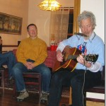 Jeff Gilliken and George Heritier on guitar