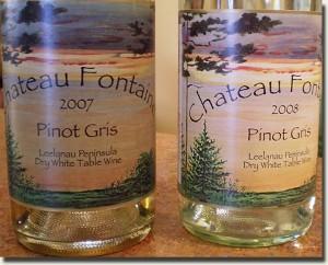 Chateau Fontaine Leelanau Pinot Gris
