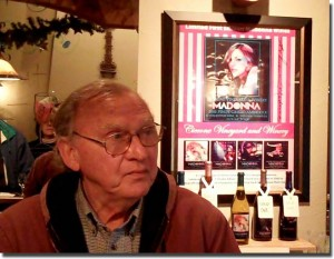 Tony Ciccone in the tasting room - click to enlarge