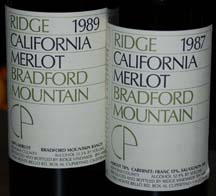Ridge Bradford Mtn Merlot