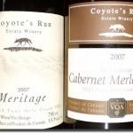 2007 Coyote's Run Meritage