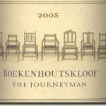 2005 Boekenhoutskloof The Journeyman Franschhoek