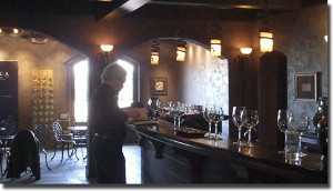 Circa Estate Winery tasting room - click to enlarge