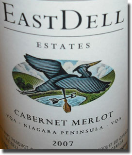 EASTDELL ESTATES CABERNET/MERLOT 2007