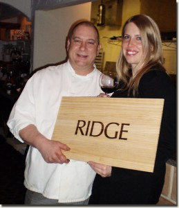 Chef J.D. Wesley and Christina Donley