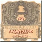 1973 Santa Sofia Recioto della Valpolicella Amarone