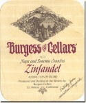 1973 Burgess Cellars Napa and Sonoma Zinfandel