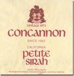 1973 Concannon California Petite Sirah