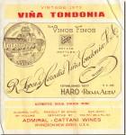1973 R. Lopez de Heredia Rioja Vina Tondonia