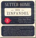 1973 Sutter Home Amador Zinfandel (Deaver & Ferrero Ranches)