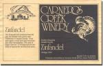 1974 Carneros Creek Amador Zinfandel Eschen
