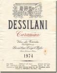 1974 Dessilani Carasmino Vino di Tavola
