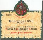 1976 Pierre Ponnelle Bourgogne Rouge