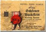 1976 Dr. Fisher Ockfener Bockstein Riesling Auslese Mosel Saar Ruwer