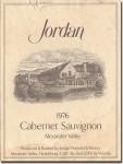 1976 Jordan Alexander Valley Cabernet Sauvignon