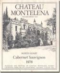 1976 Chateau Montelena North Coast Cabernet Sauvignon