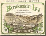 1976 Dr. Thanisch Bernkasteler Lay Riesling Auslese Mosel Saar Ruwer