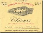 1978 Domaine de Chassignol Chenas