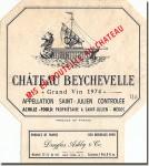 1974 Château Beychevelle Saint-Julien