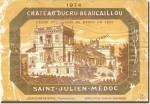 1974 Château Ducru-Beaucaillou Saint-Julien