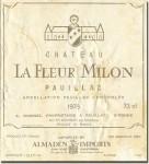 1976 Château La Fleur Milon Pauillac