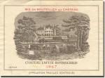 1967 Château Lafite Rothschild Pauillac