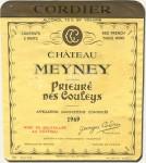 1969 Château Meyney Saint-Estèphe