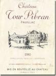 1981 Château Tour Pibran Pauillac