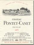 1975 Château Pontet-Canet Pauillac