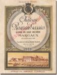 1969 Château Rauzan-Gassies Margaux