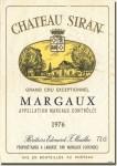 1976 Château Siran Margaux