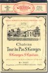 1976 Château Tour du Pas Saint-Georges Saint-Georges-Saint-Emilion